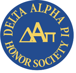 Delta Alpha Pi Honor Society logo